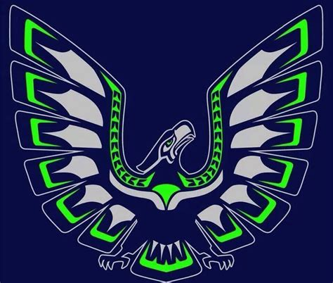 seahawk tribal tattoos tribal washington seahawks seattle and