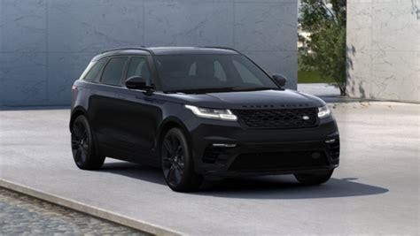 range rover velar black zo dik kan een range rover velar eruit zien autoblog nl