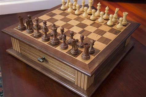 building custom chess board home construction improvement