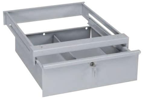 cassetto scorrevole cassetto in ferro con serratura per tavolo da lavoro