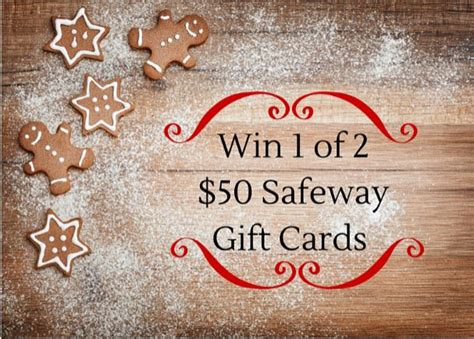 Gift Cards At Safeway - safeway holiday gift card giveaway win 1 of 2 50 gift cards super safeway