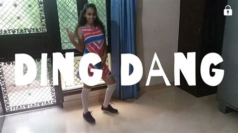 tutorial dance on ding dang dance on ding dang muskaan daniel youtube
