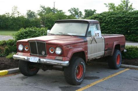 1963 Jeep Gladiator Sell Used 1963 Jeep J 10 Gladiator 4x4 Chevy 350 4bbl