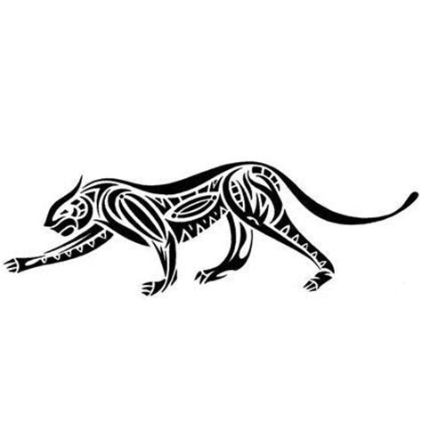tribal tattoo jaguar stalking tribal jaguar design tattoowoo