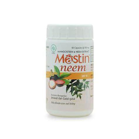 Obat Herbal Mastin jual borobudur mastin neem kapsul isi 60 prosehat