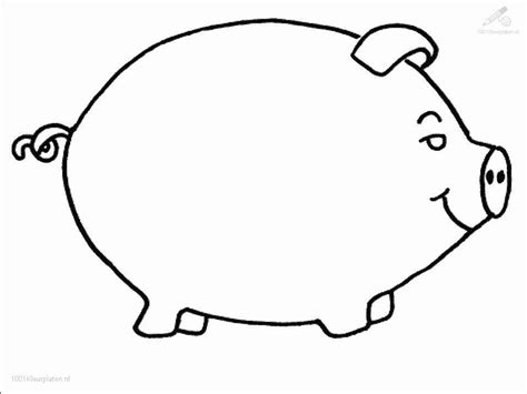 picture of pig coloring page pig coloring page