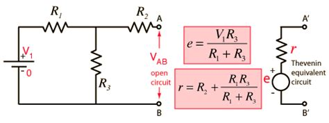 resistors with exles homework and exercises is this way of solving thevenin theorem correct physics stack exchange