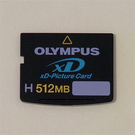 Memory Card Olympus xd picture card