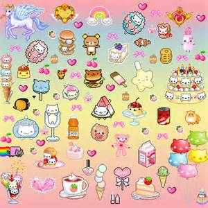 Tags kawaii cute background pixels