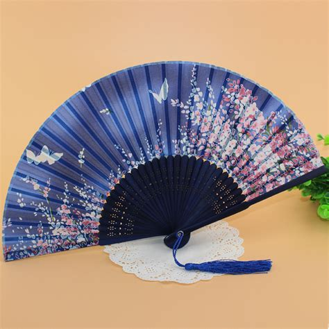 Handmade Fans For Weddings - japanese fans silk folding bamboo fan fans
