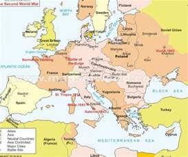 Map Of Europe In Ww2 by Pics Photos Europe Map World War Ii Map Of World War Ii