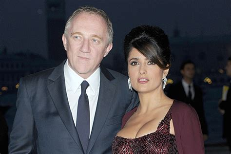 Salma Hayek Is Engaged And Knocked Up by Salma Hayek S Husband Breaks Silence On With