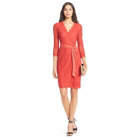 Dvf Dresses by Diane Furstenberg Dvf Julianna Lace Wrap Dress In