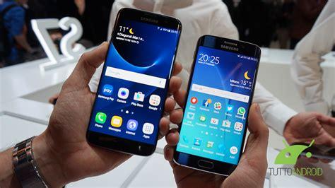 Samsung S7 Edge Vs S6 Edge confronto fra galaxy s7 edge e galaxy s6 edge