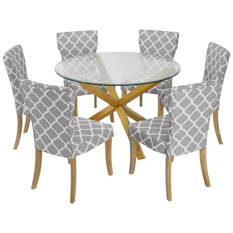 Oak And Glass Dining Table Sets Best 25 Glass Dining Table Ideas On Glass Kitchen Table Glass Top