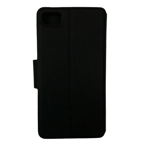 One Dimention Hitam delcell flipcase bb z10 hitam delcell