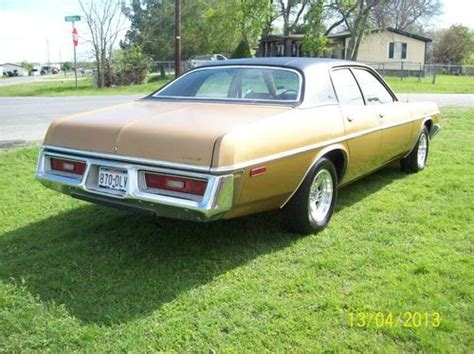 sell used 1974 dodge coronet custom sedan 4 door 5 2l in