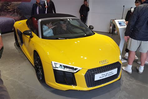 audi r8 price in uk new audi r8 spyder prices and specs revealed auto express