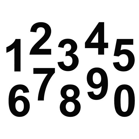 Aufkleber Zahlen 1 1000 by Png Zahl Transparent Zahl Png Images Pluspng