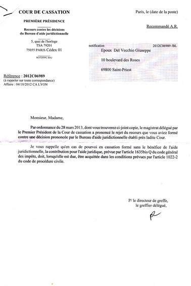bureau d aide juridictionnelle lyon cour de cassation monsieur le pr 233 sident du bureau d aide