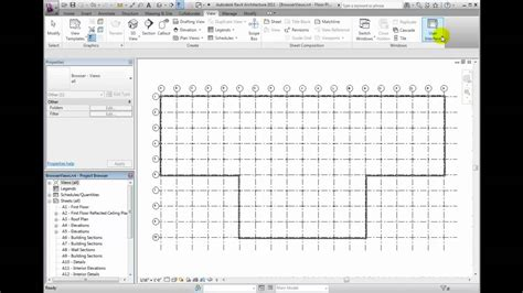 revit tutorial project browser revit architecture 2011 tutorial managing project