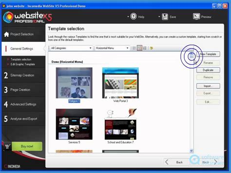 tutorial website x5 youtube incomedia website x5 professional quick demo youtube