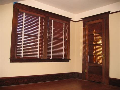 white curtains with brown trim 15 best stained trim stained blinds images on pinterest