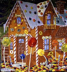 Detail gingerbread house for quot hansel and gretel quot