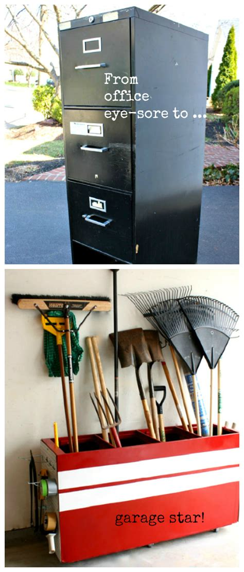 File Cabinet Garage Storage by 50 Useful Diy Tricks To Organize Your Whole Design Bump