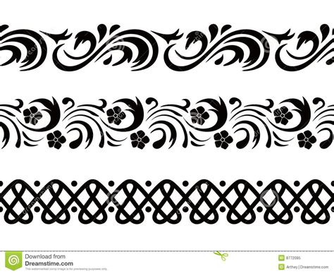 eps format border design free download 16 vector seamless pattern border images vector swirls