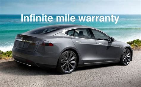Tesla Warranty Infinite Mile Warranty Tesla Boosts Model S Drivetrain
