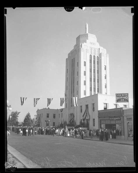 Nuys Court Search Nuys Court Building Dedication 1933 San Fernando Valley My Hom