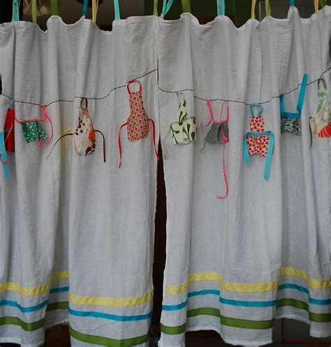 fabric kitchen curtains corduroyscloset sytyc week 8 scrap curtains