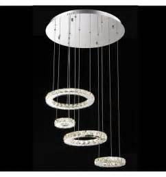 lustre led 4 anneaux