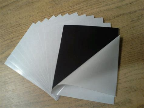 a3 size 0 7mm self adhesive magnet sheets