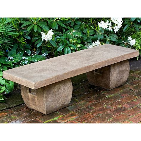 stone top benches 25 best ideas about stone bench on pinterest outdoor