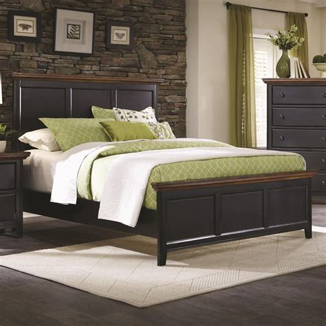 black california king bed coaster 203151kw black california king size wood bed