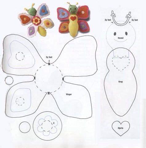 molde mariposa patrones pinterest felting felt materiales gr 225 ficos gaby mariposas de fieltro con moldes