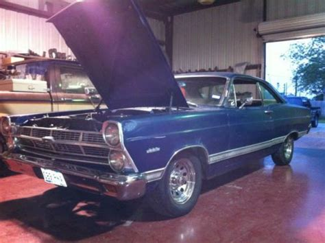 find new 1967 ford fairlane fastback 500 with a 289 c i engine 3 speed manual project in