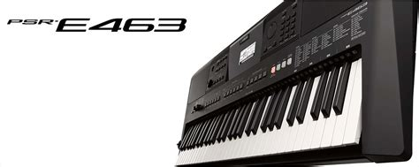 Keyboard Yamaha E463 Psr E463 Overview Portable Keyboards Keyboard Instruments Musical Instruments Products