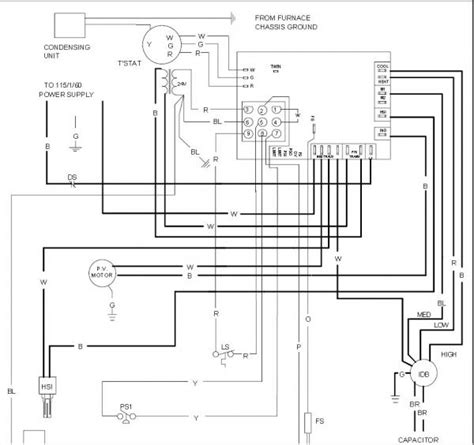 goodman furnace wiring diagram aruf486016 41 wiring