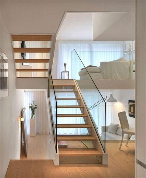 moderne boden kerzenständer treppe mit glasgel 228 nder f 252 r schickes interieur archzine net