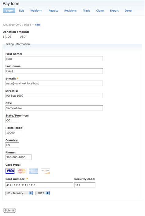 drupal theme webform webform pay drupal org