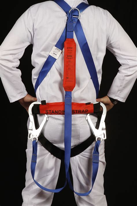 Fullbody Harness harness with lanyard and shock absorber