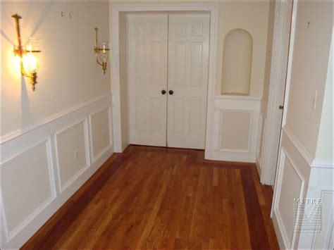 Wood Wainscoting Panels by Wainscoting Pictures Flat Wall Paneled Wainscoting