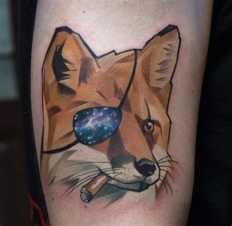 newspaper themed tattoo starry animal themed tattoos feature the beauty of the