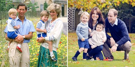 the royal family compare the 1986 royal family photo to the 2015 portrait