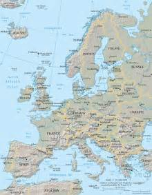 Large Map Of Europe by File Europe Map Cia 2005 Large Jpg