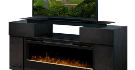 Dimplex Concord Electric Fireplace by I Wish This Fit Dimplex Concord Tv Stand With Electric Fireplace With Glass Embers Black