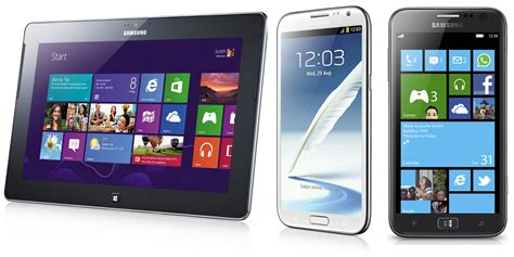 Handphone Samsung Windows 8 samsung ativ line outed at ifa windows 8 rt and phone 8 devices revealed